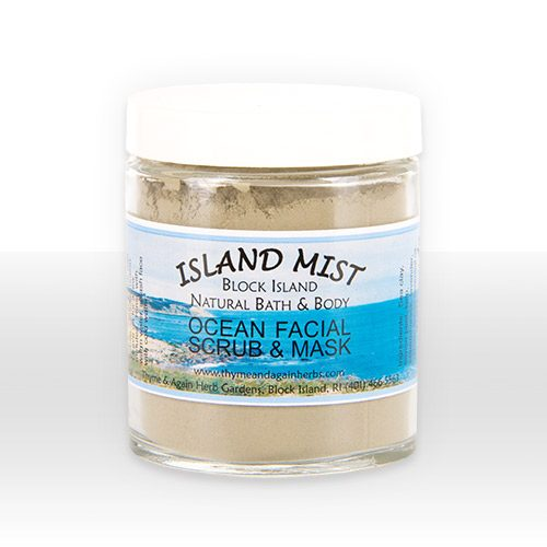all natural ocean facial scrub and mask