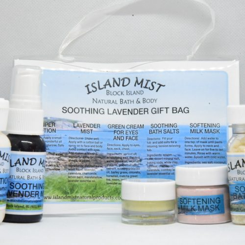 soothing lavender gift bag