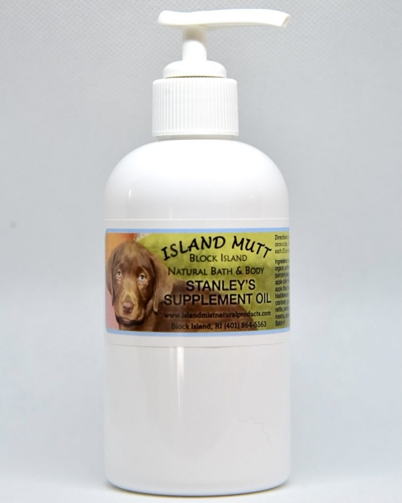 island-mutt-stanleys-supplement-oil